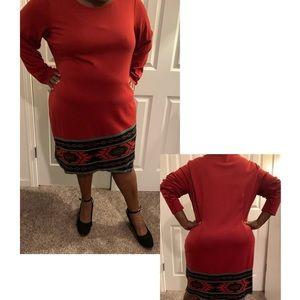 Beautiful tribal patterned dress